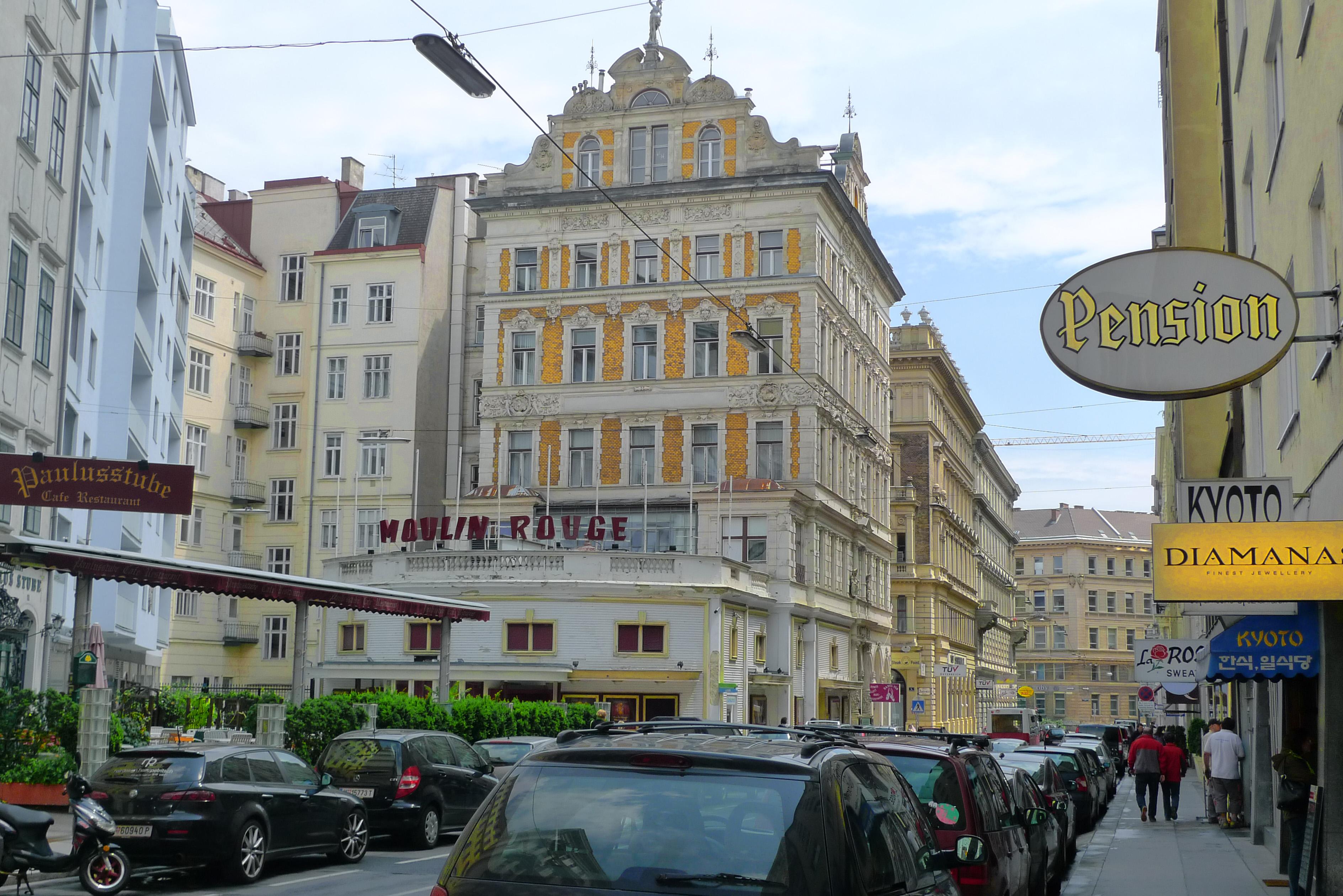 Tåg till Wien