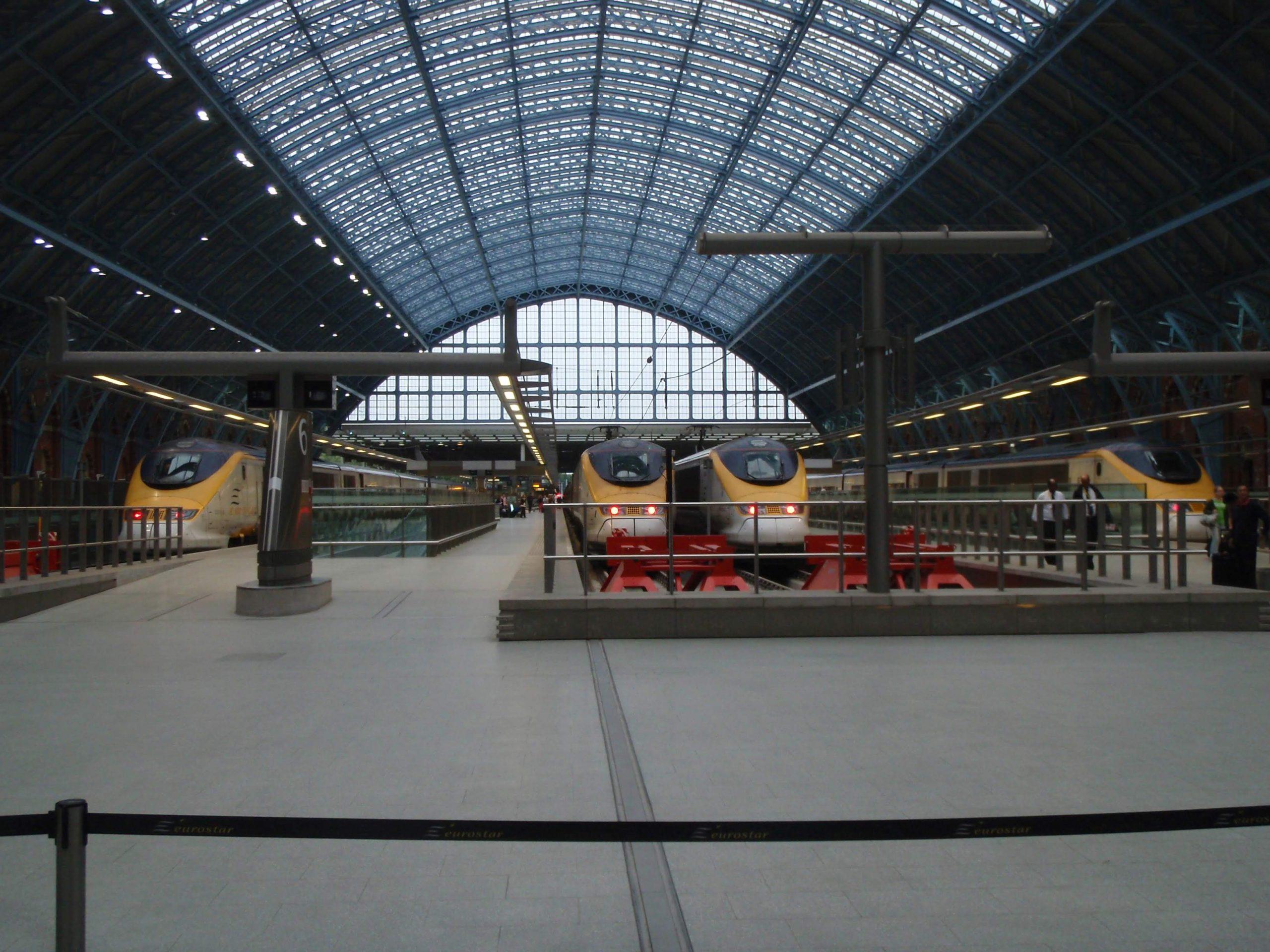 Tåg till Storbritannien